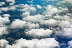 Rundreise Thailand - landning på Frankfurt - f.m. - strömförsörjning som ser landskap Royaltyfri Fotografi