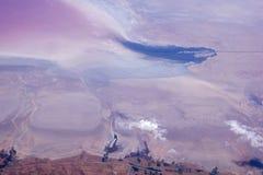 Rundreise Thailand - sanddyn som ska ses på inställningen till Abu Dhabi Arkivbilder