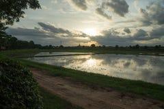 Rundresa Thailand juli 2017 - Sukhothai Royaltyfria Foton
