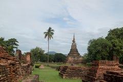 RundresaThailand juli 2017 - Sukhothai - historia parkerar Royaltyfri Foto