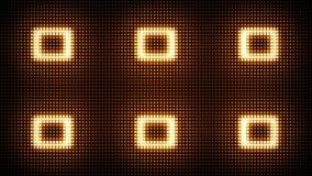 Rundumleuchten blinkendes VJ Flackernde geführte Blinklichter Lizenzfreie Stockfotos