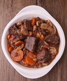 Rundvlees bourguignon Stock Foto's