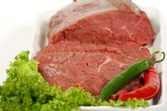 Rundvlees en groente Stock Afbeeldingen