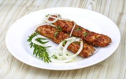 Rundvlees kebab Royalty-vrije Stock Foto