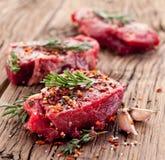 Rundvleeslapje vlees. royalty-vrije stock fotografie