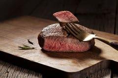 Rundvleeslapje vlees Stock Afbeelding