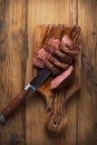 Rundvleeslapjes vlees Stock Foto