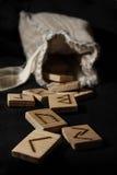 Rune Fotografia Stock