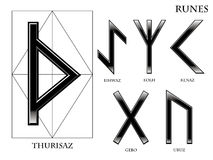 Rune royalty illustrazione gratis