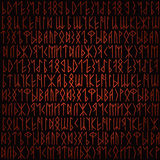Rune background Royalty Free Stock Images