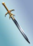 Rune-blade Stock Photo