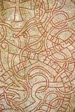Rune. Priorità bassa Fotografia Stock