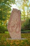 Rune stone in Sweden. Norrtälje Stock Photos