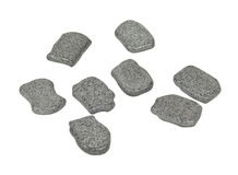 Rune Stones with Space for Your Symbols Royalty Free Stock Photos