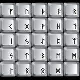 Rune symbols Royalty Free Stock Image