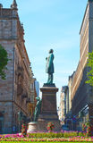 Runeberg statue on the Esplanadi street in Helsinki Stock Image