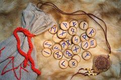 Runen Stock Afbeelding