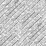 Runen- brief Stock Foto