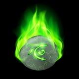 Runen- steen Royalty-vrije Stock Foto's