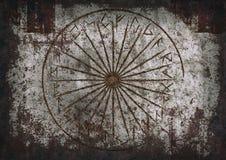 Runes предпосылки Стоковая Фотография
