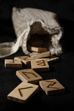 Runes photographie stock