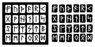 The runes Stock Photos