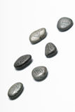 Runes. Viking runes on a white background. Limited DOF Stock Image
