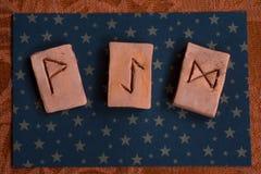 runes imagem de stock royalty free