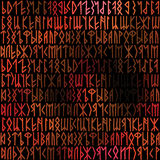 Runes background Royalty Free Stock Photography