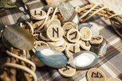 The runes Stock Images