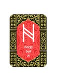 The runes card Stock Photo