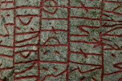 Runes do fundo Fotografia de Stock Royalty Free