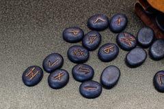 Runes stock photos