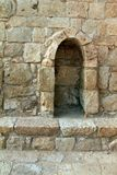Ruïnes van Avdat - oude stad in Negev-woestijn Royalty-vrije Stock Afbeelding