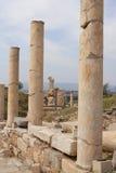Ruïnes van Ephesus, Turkije Stock Afbeelding