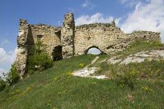 Ruïnes van het kasteel Royalty-vrije Stock Afbeelding