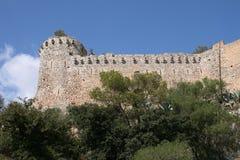 Ruïnes van kasteel Royalty-vrije Stock Afbeeldingen