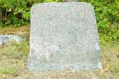 Runestone fotografie stock libere da diritti