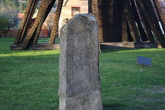 Runestone Obrazy Royalty Free