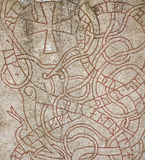 Runestone Royalty Free Stock Photography