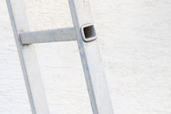 Rung of a Ladder. Closeup with copy space of the rung of a ladder stock photography