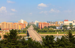 Rungna Bridge, Pyongyang Stock Photos
