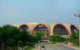 Rungrado 1st of May Stadium, Pyongyang, North-Korea Stock Images
