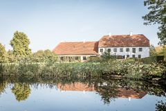 Rungstedlund, el hogar del escritor danés Karen Blixen fotografía de archivo
