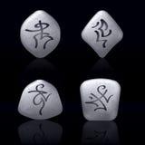 runic камни Стоковое Изображение RF