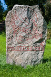 Runic stone Royalty Free Stock Photos