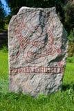 Runic stone Royalty Free Stock Photos