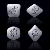 Runic Stones Stock Photography