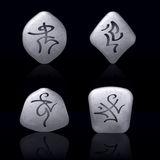 Runic Stones Royalty Free Stock Image
