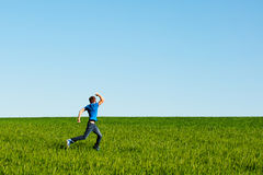 Runing man Stock Images
